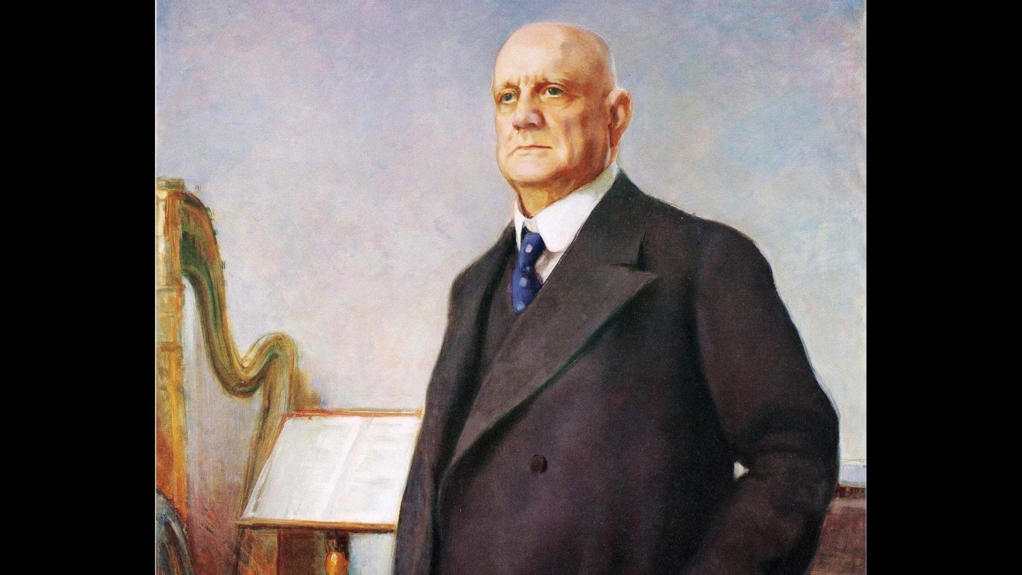 Jean Sibelius. Eero Järnefelt. 1935. Wikiart.