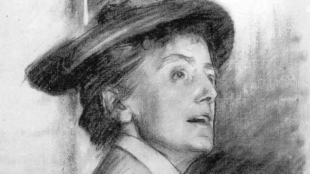 Dame Ethel Smyth. John Singer Sargent, 1901.