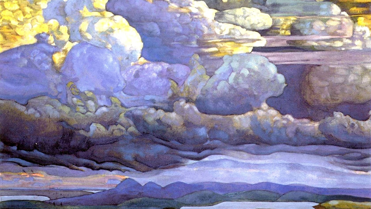 Nicholas Roerich, 1912