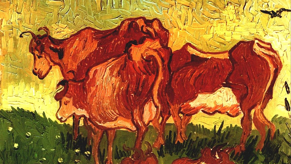 Kossor. Vincent van Gogh, 1890.