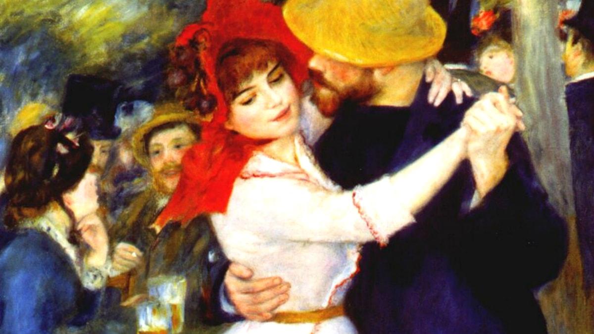 Danse à Bougival. Pierre-Auguste Renoir, 1883.