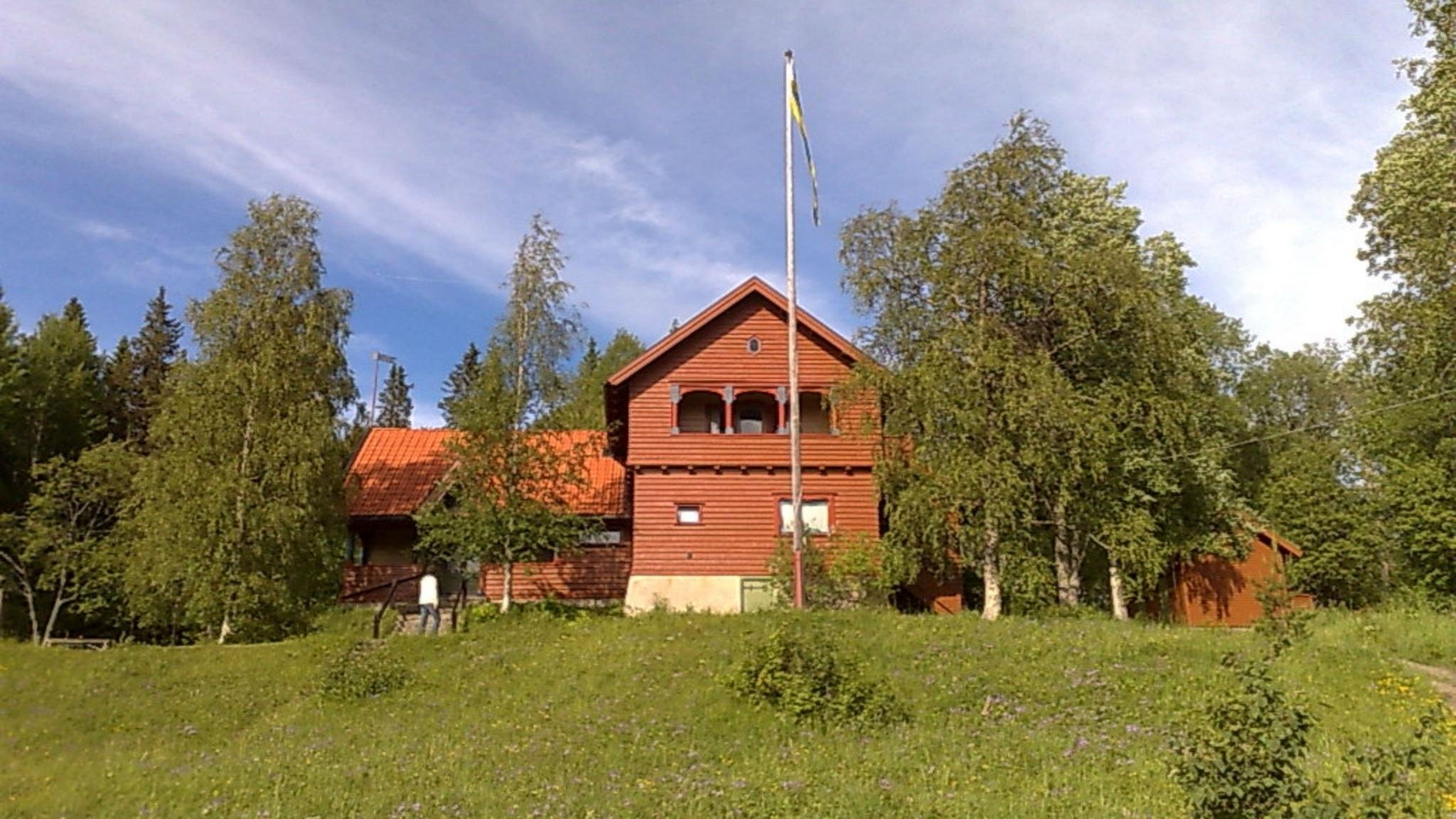 Wilhelm Peterson-Bergers Sommarhagen på Frösön, Jämtland.