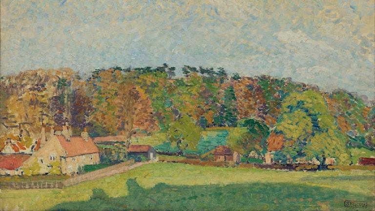'Höst i Sussex'. Spencer Gore (1907).