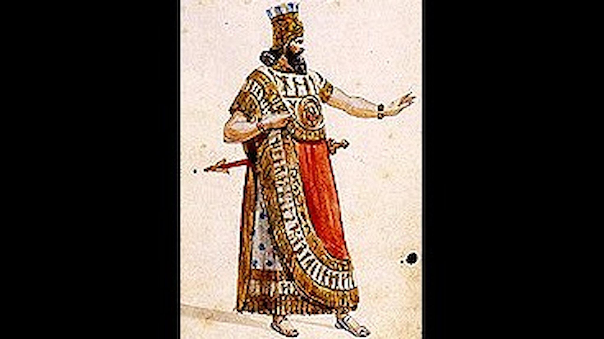 Verdi: Nabucco. 1842 original kostymskiss