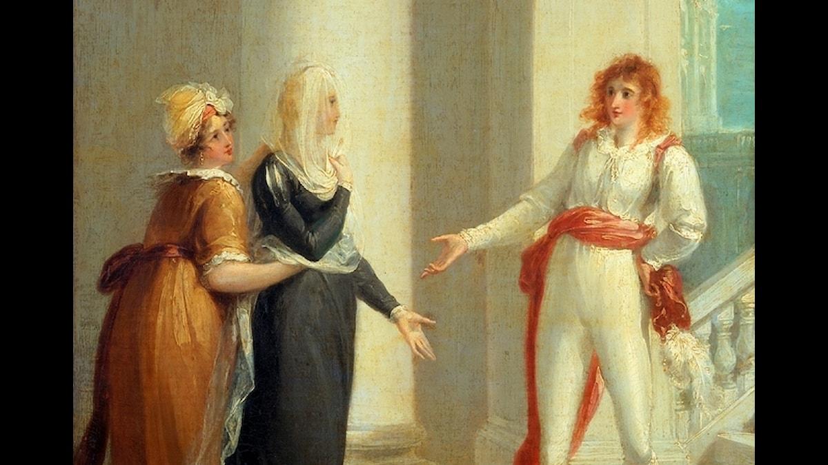 A scene from Twelfth Night. William Hamilton (1751-1801)