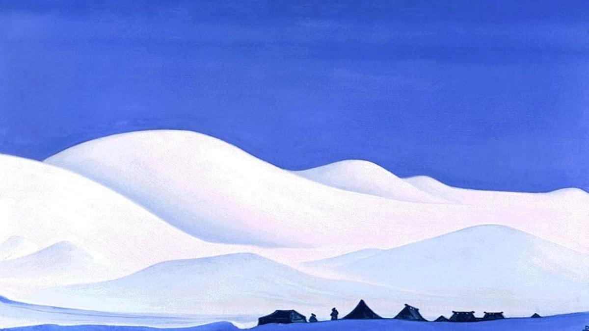 Chan Thang, Tibet. Nicholas Roerich, 1939