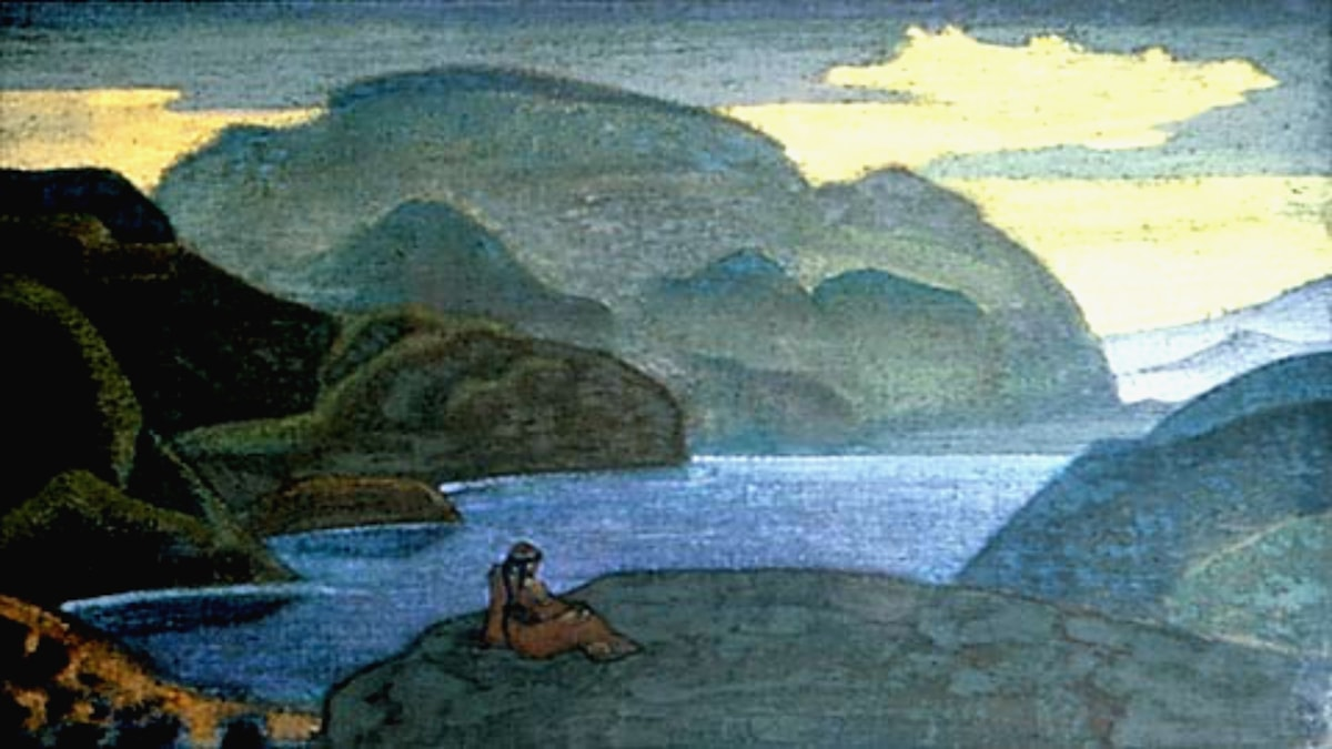 Nicholas Roerich: Meditation (1923)