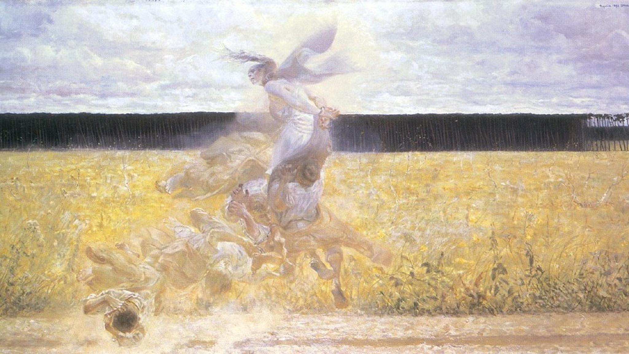 Jacek Malczewski: In the dustcloud