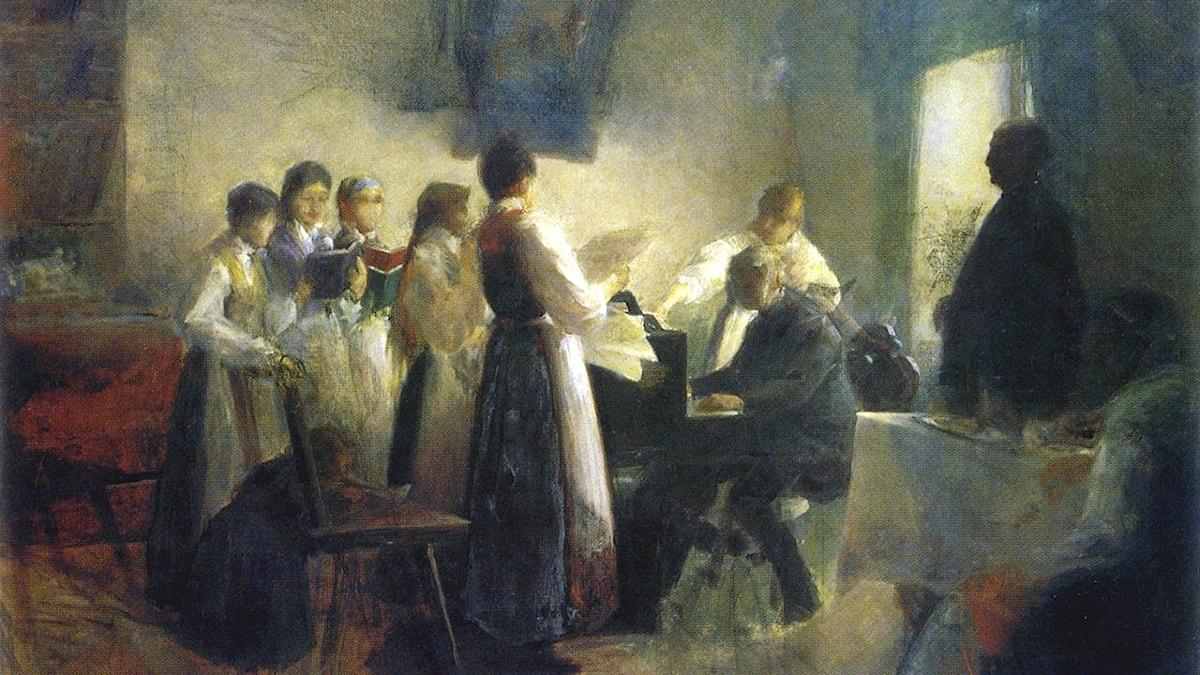 Byns kör. Anton Azbe- 1900.
