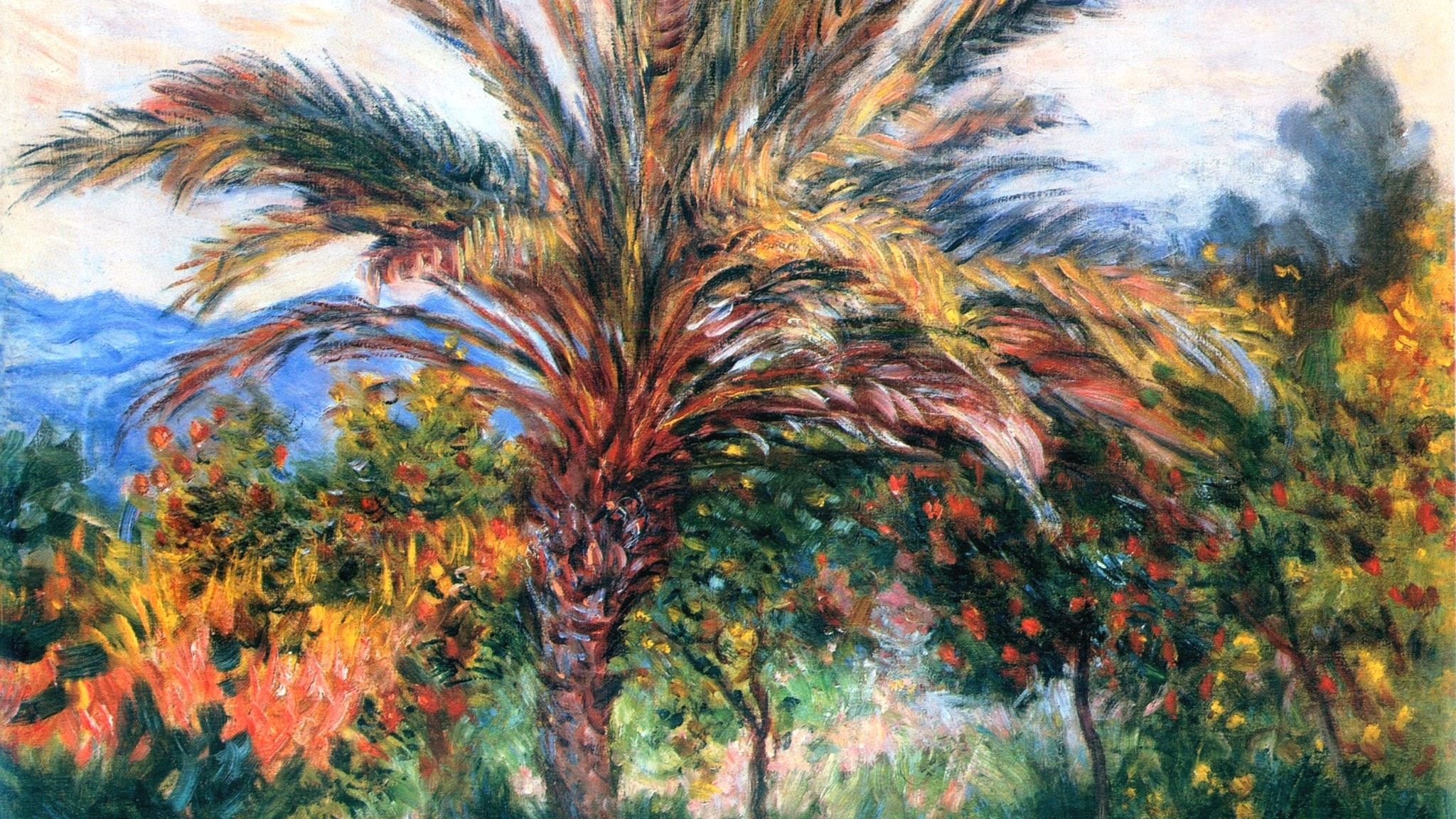 Norsk kvartett med stråk av palmer