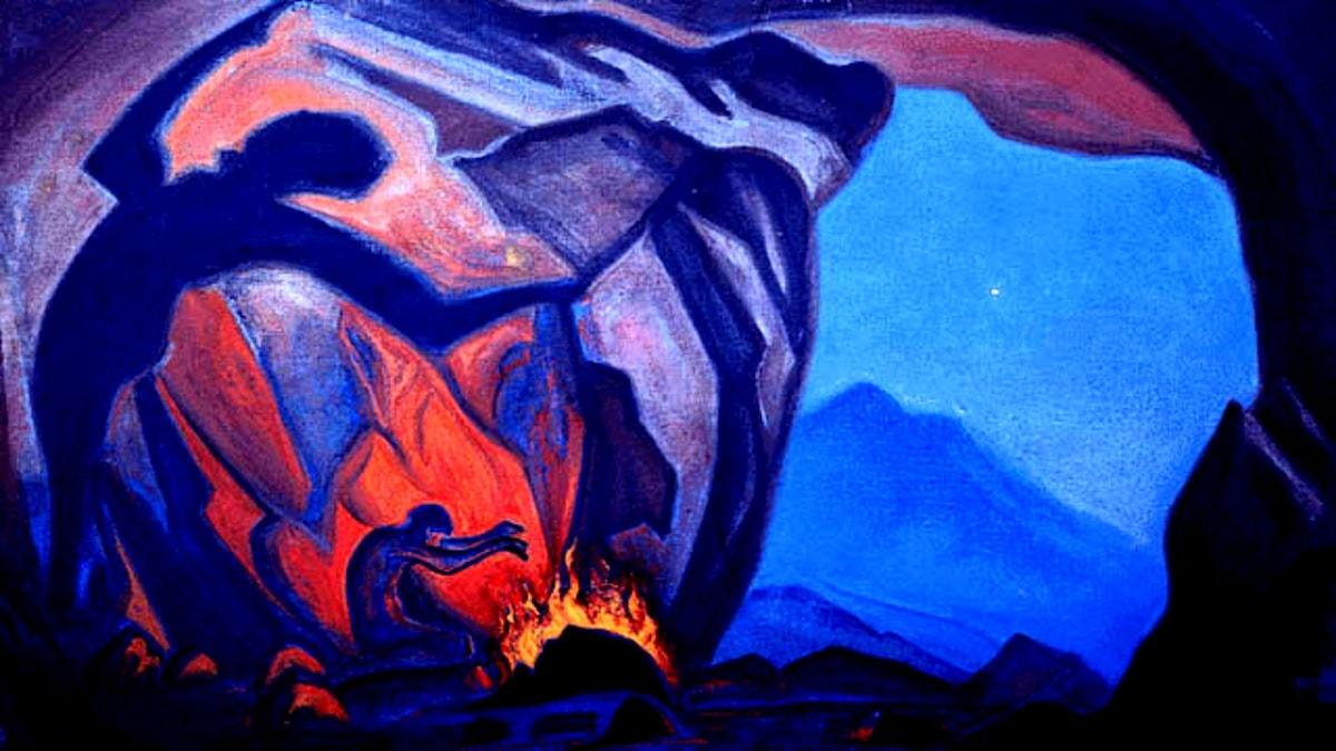 Magician. Nicholas Roerich,1943