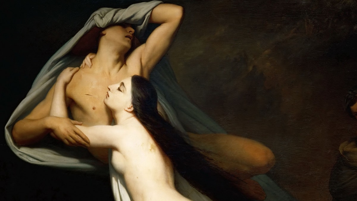 Ary Scheffer The Ghosts of Paolo and Francesca