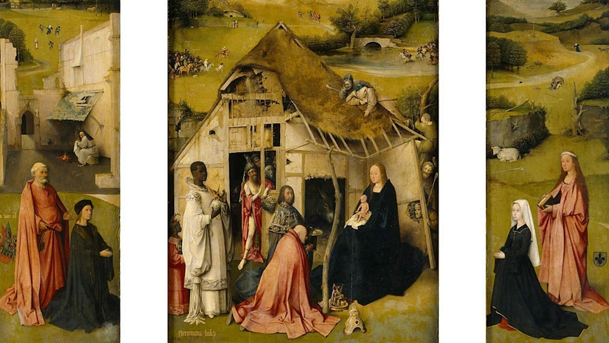 The Adoration of the Magi. Hieronymus Bosch (ca. 1495)