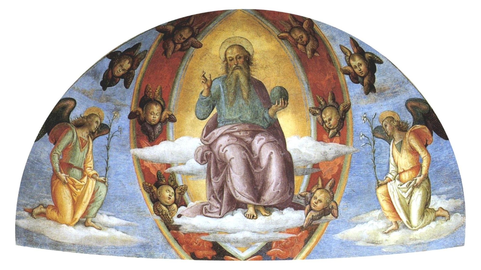 Herren med änglar (Pietro Perugino, 1503).