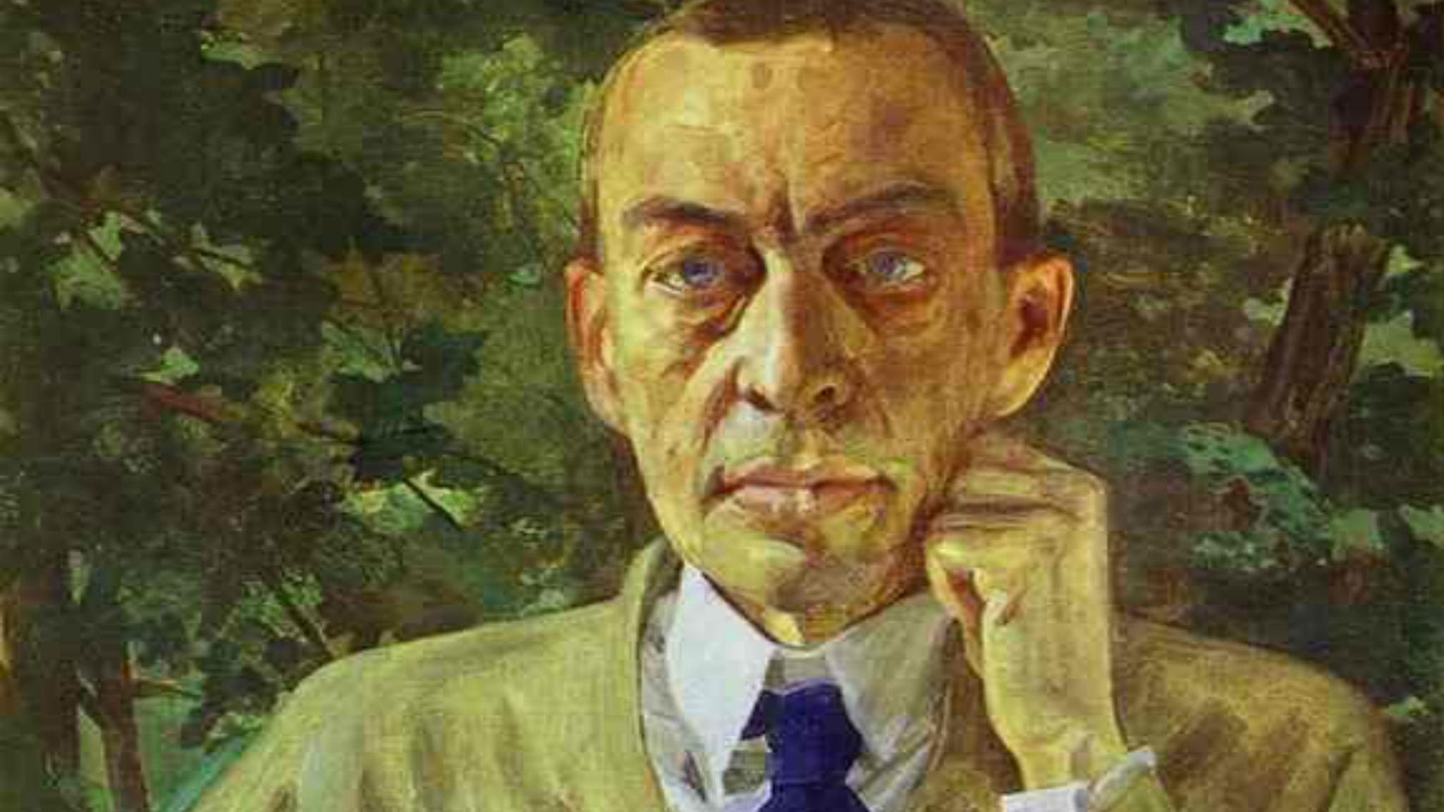 Sergej Rachmaninov. Konstantin Somov, 1925