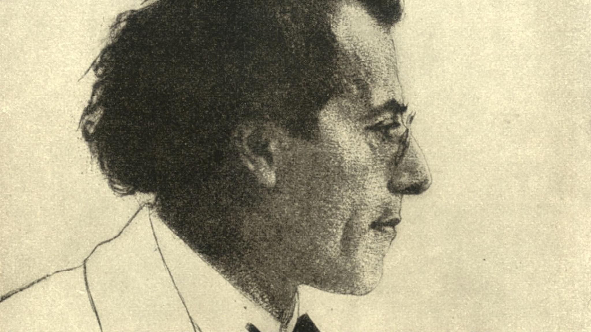 Gustav Mahler. 1903. Emil Orlík.