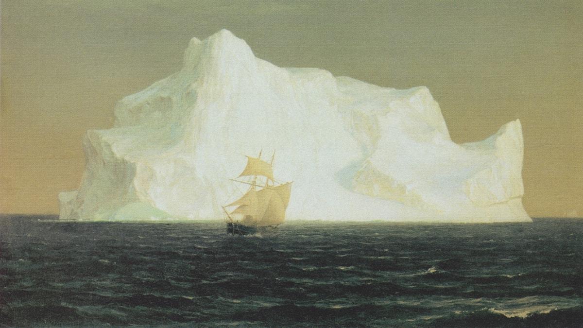 'Isberget'. Frederic Edwin Church (1891).