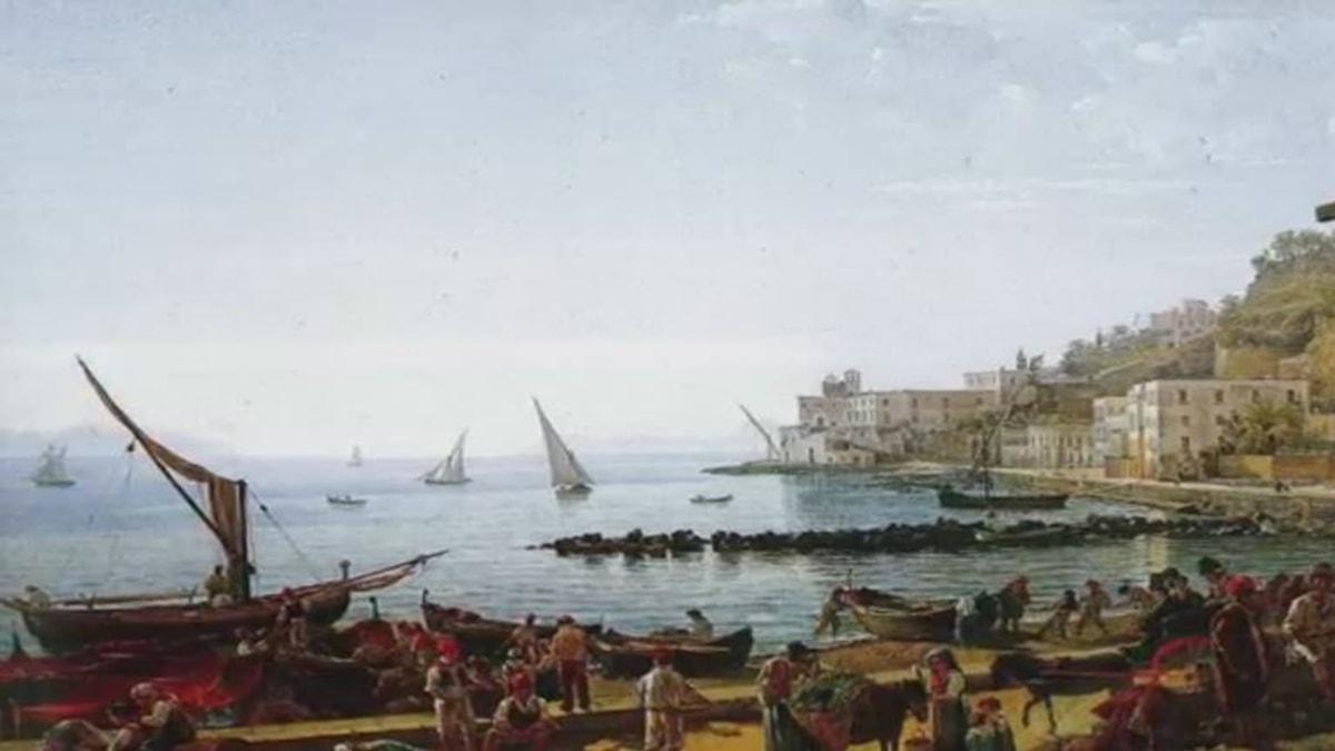 Napoli Mergellina. Sylvester Shchedrin, 1826.