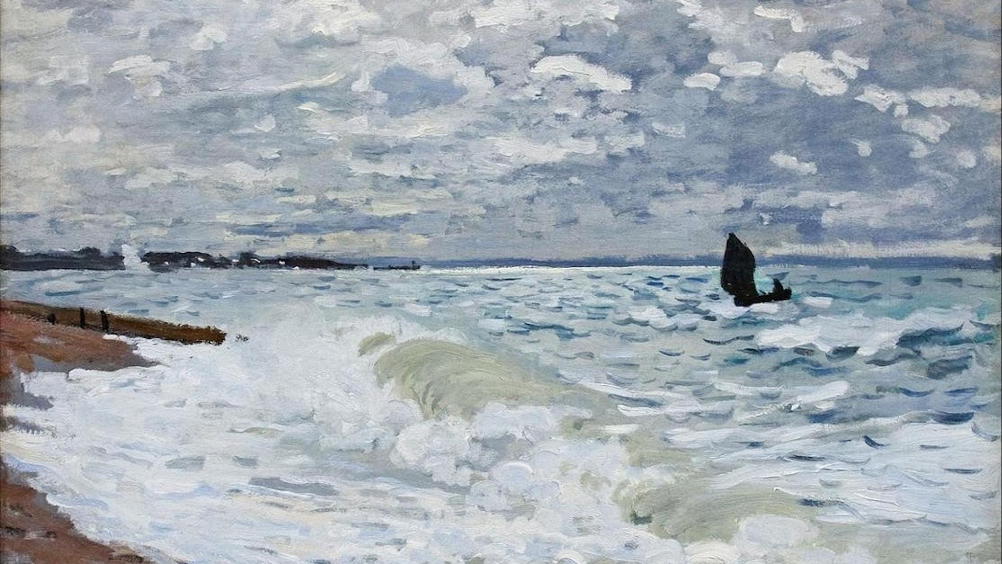 Claude Monet: Havet vid Saint Adresse (18