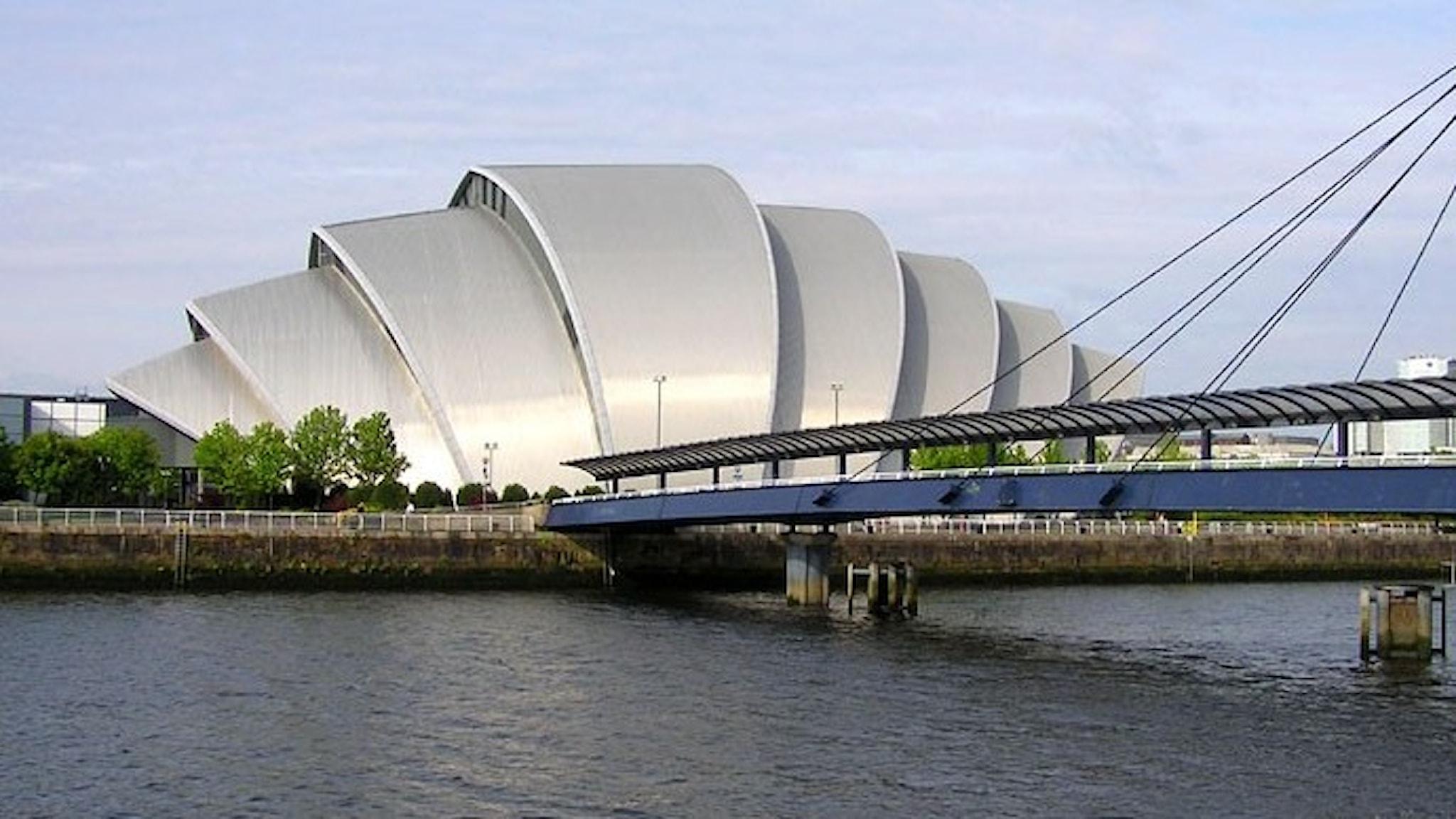 En konserthall som ser ut som en stor snäcka!