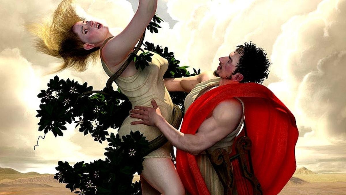 Apollo och Daphne. Adel Adili, 2005. CC BY-SA 3.0.