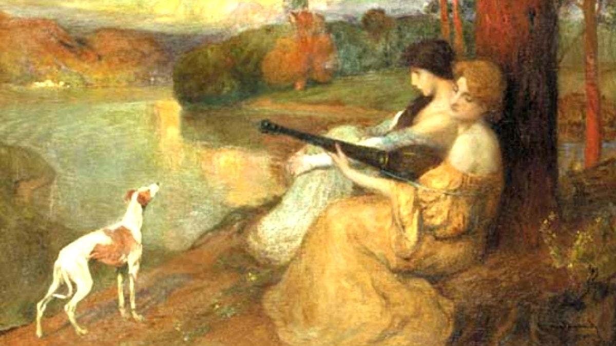 Harmonisk afton. Michel Simonidy, 1905.