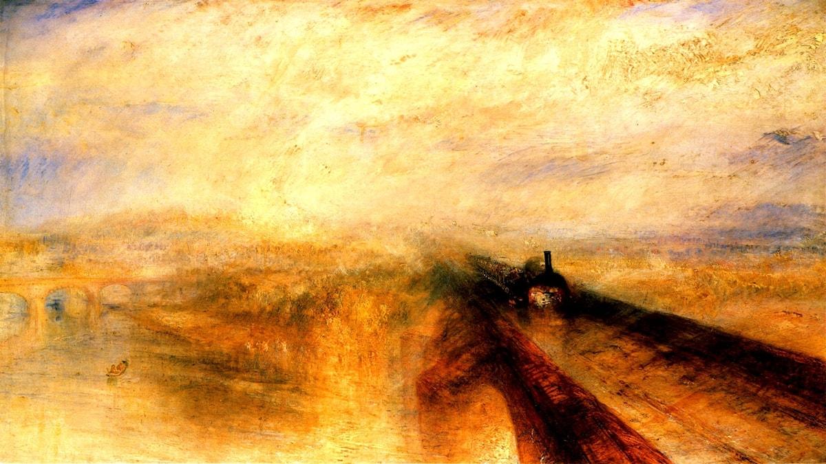 Rain Steam and Speed, The Great Western Railway. William Turner (1775-1851)