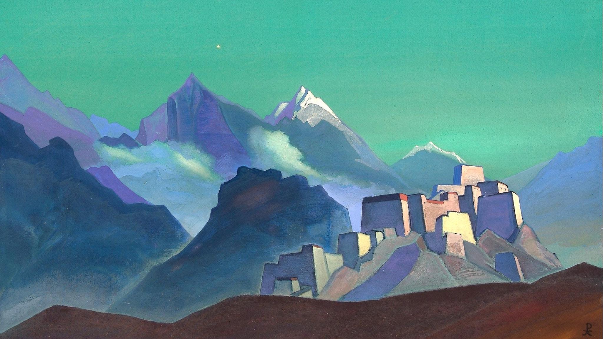 Morgonstjärnan (Nicholas Roerich, 1932).