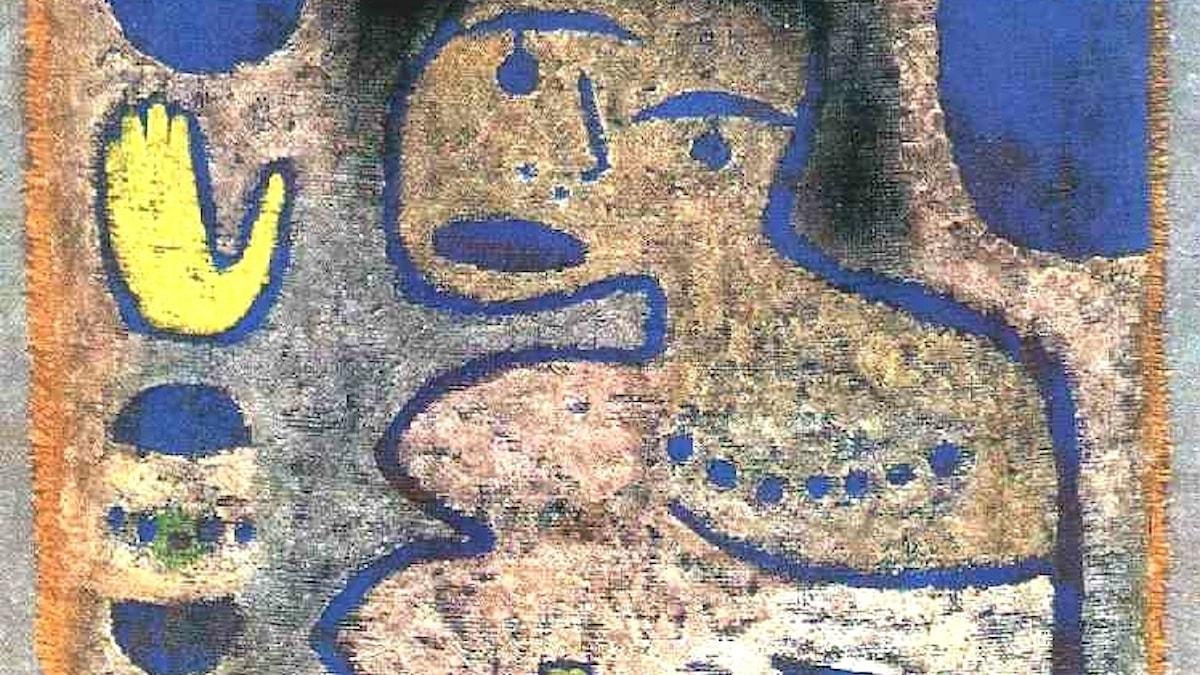Paul Klee: Kärlekssång vid nymånen (1939)