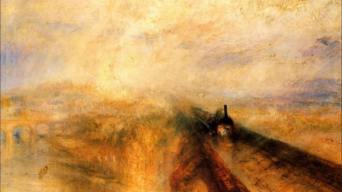 Rain Steam and Speed. The Great Western Railway. William Turner (1844)