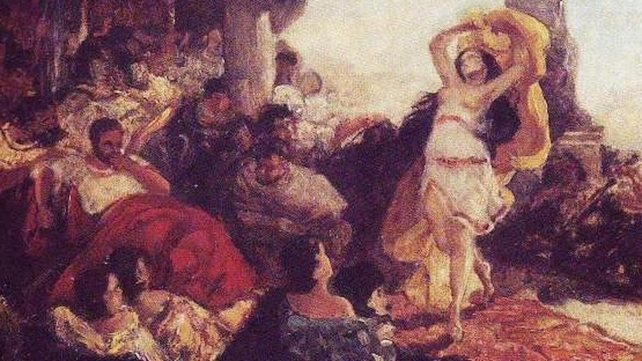Salomes dans. Maurycy Gottlieb. 1879 (wikart)