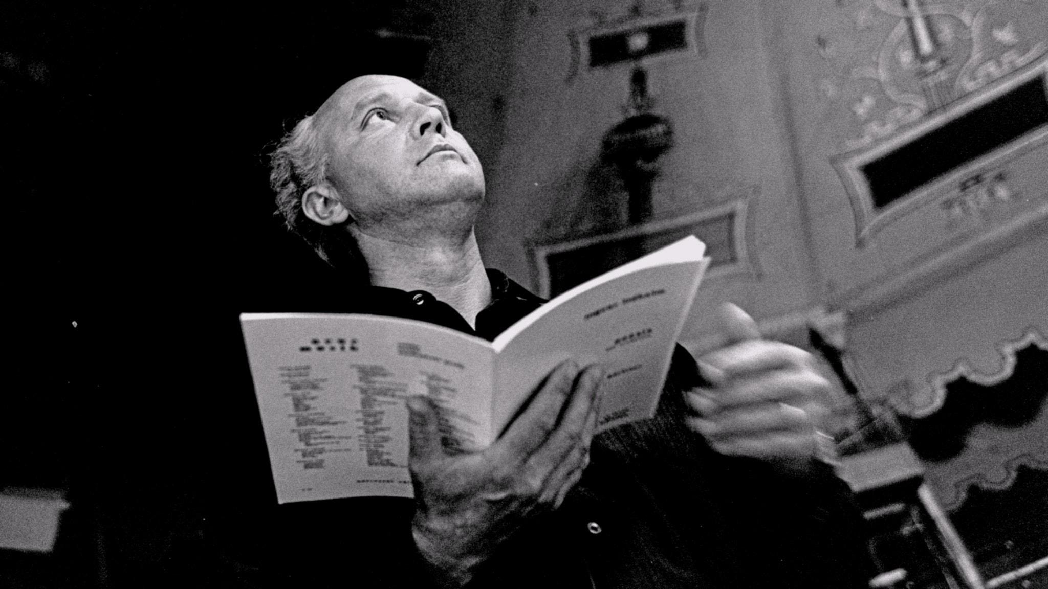 Ingvar Lidholm. Foto: Bo-Aje Mellin.