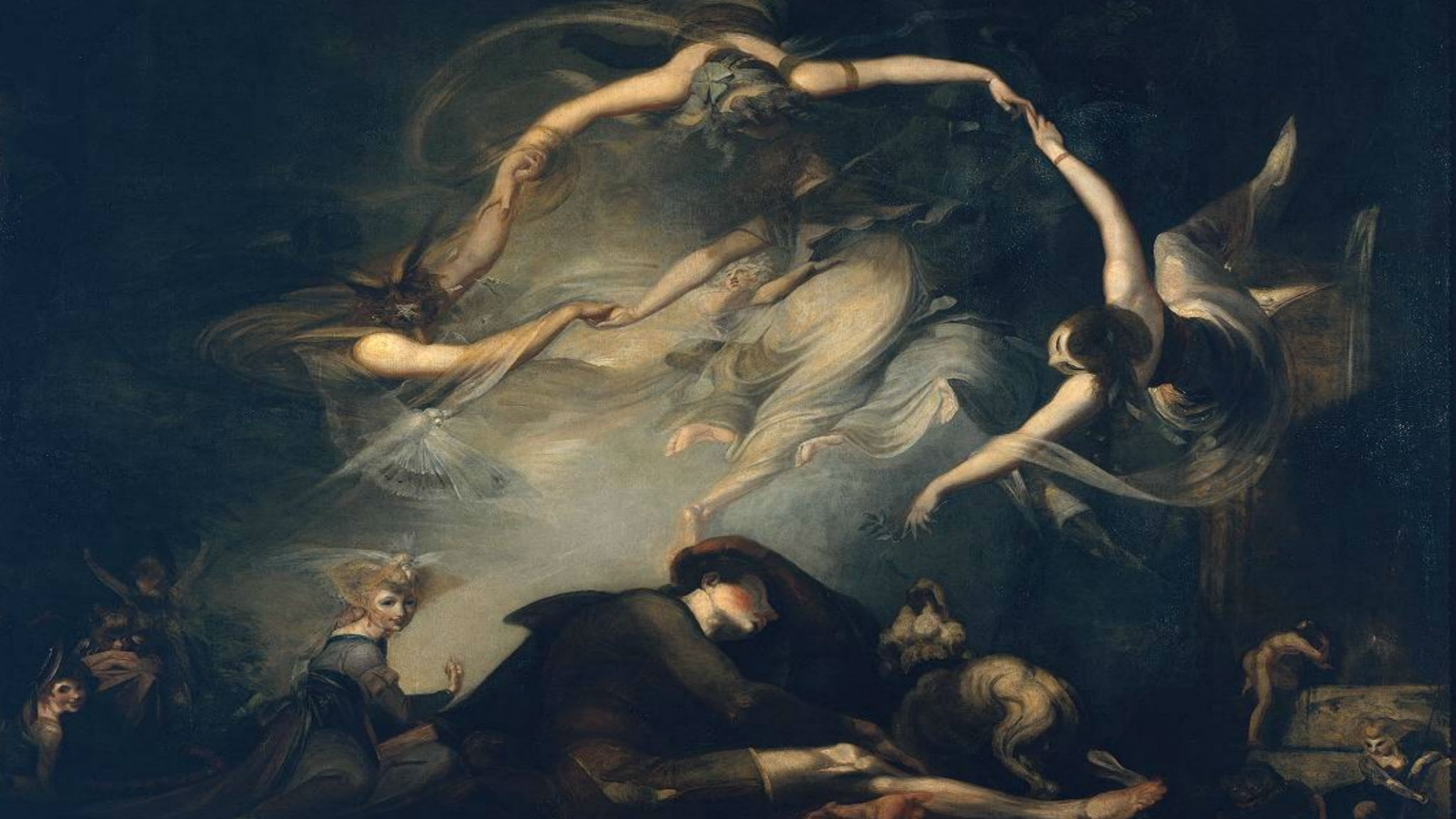 The Shepherd's Dream, from 'Paradise Lost'. Henry Fuseli (1793)