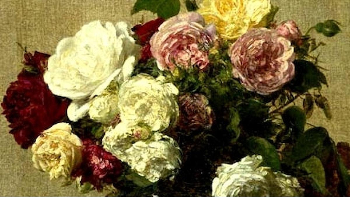 Henri F-Latour: Roses (1885)
