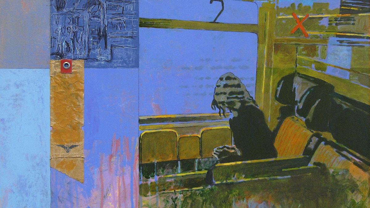 Expection Målning av Mats Ceder