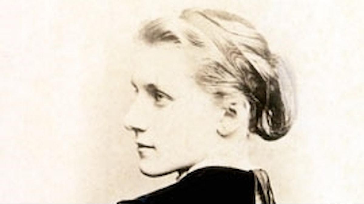 Julie Schumann vid 21 års ålder. Foto: Robert-Schumann-Haus Zwickau, ca 1866.