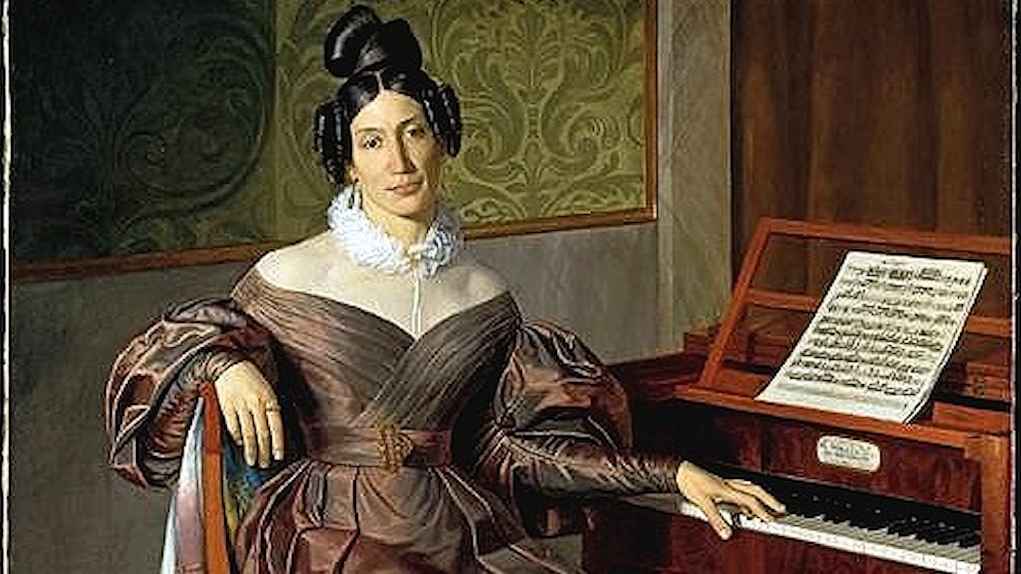 Isabella Colbran (Johann Baptist Reiter, ca 1835).