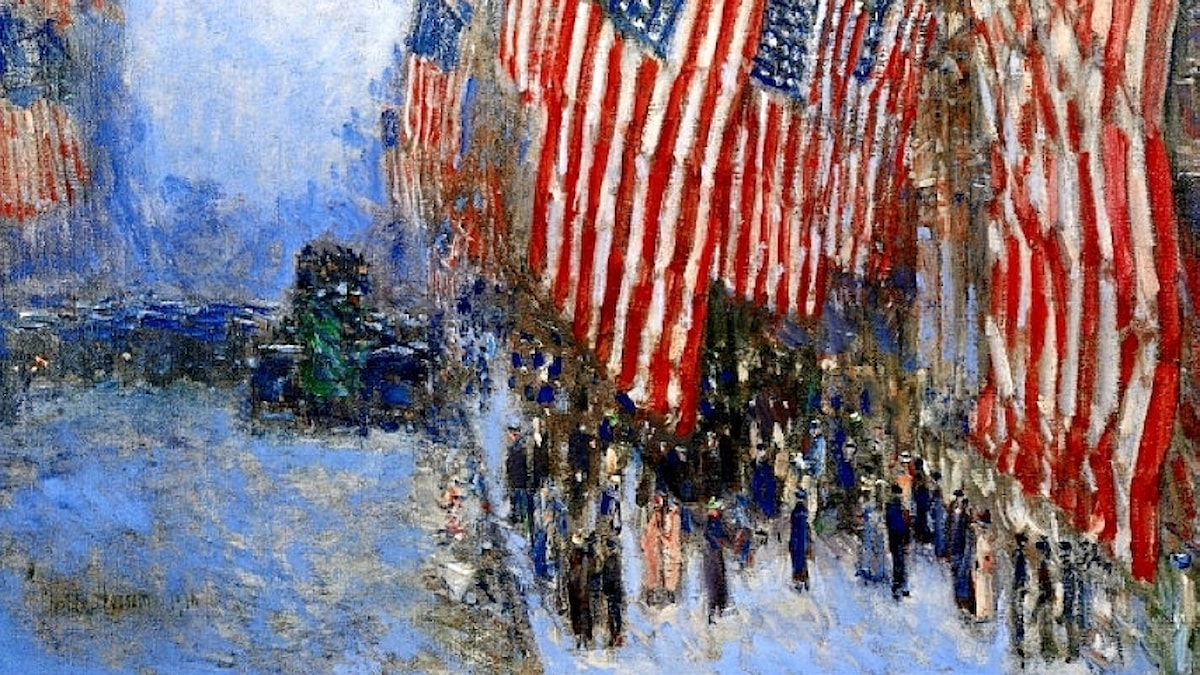 Childe Hassan: Fjärde juli (1916)