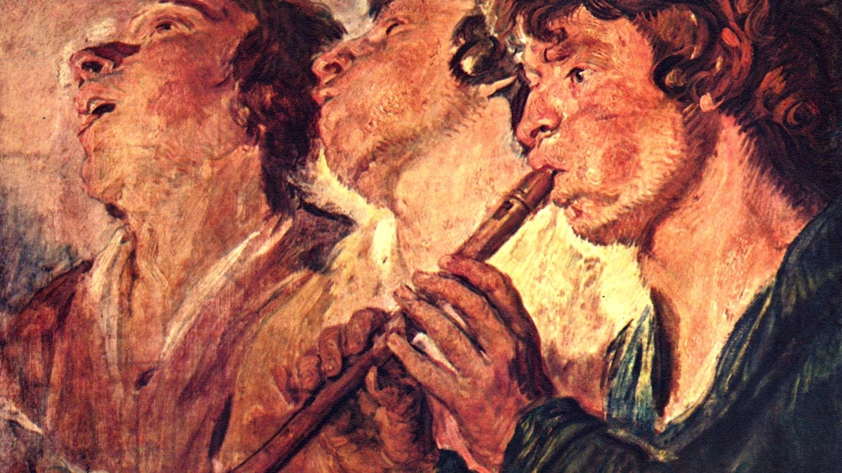 Jacob Jordaens: Tre musiker