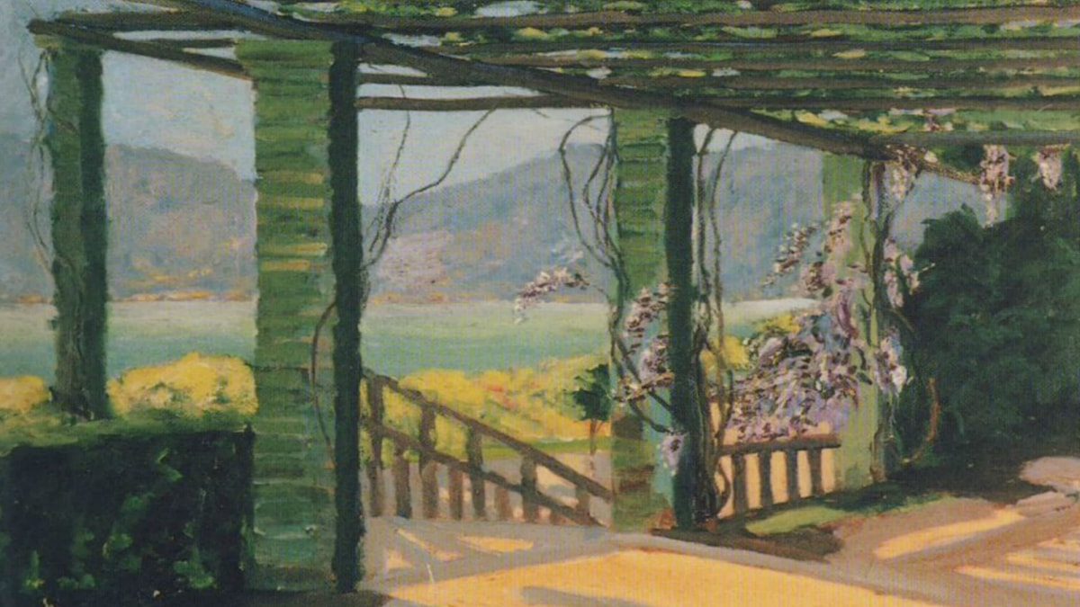 A Villa at the Riviera. Winston Churchill.