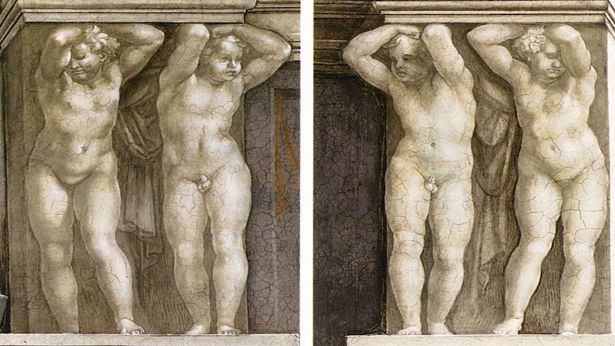 Putti (1511). Michelangelo