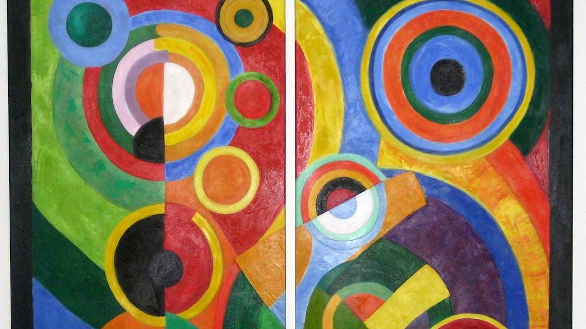 Robert Delauny: Rytm (1912)
