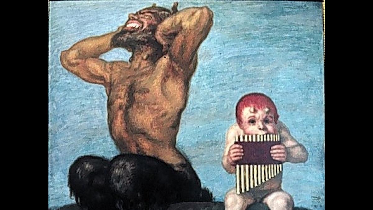Franz Stuck: Dissonans (1910)
