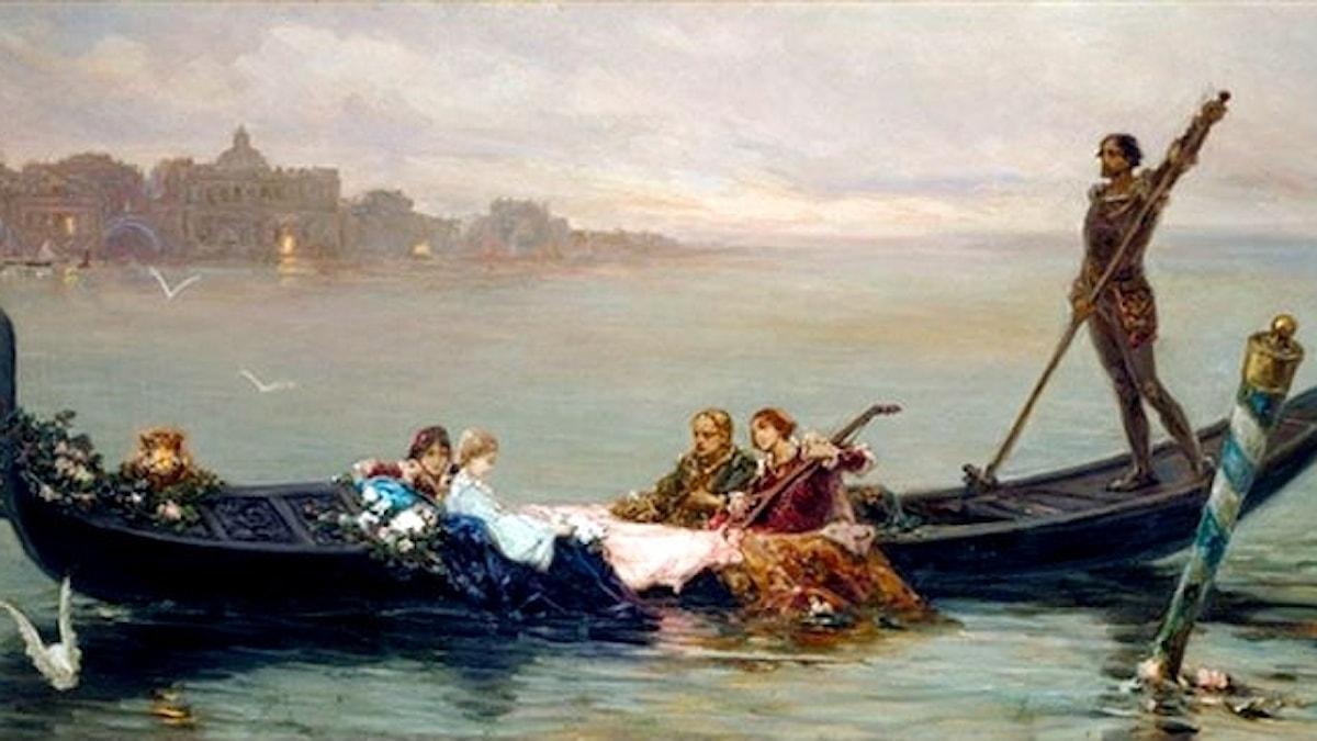 Wilhelm Kotarbinski: Serenad i Venedig