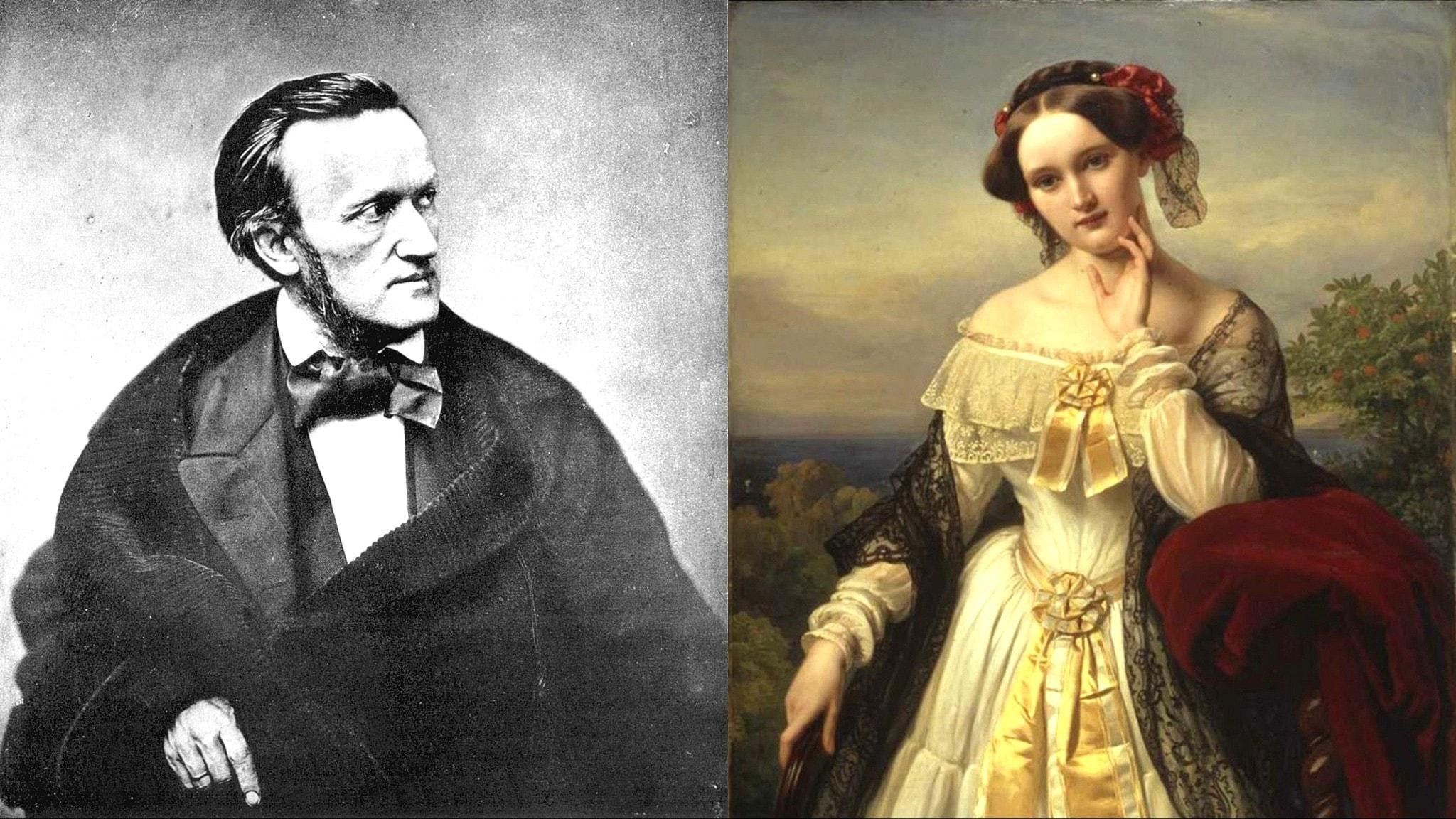 Richard Wagner/Mathilde Wesendonck (Pierre Petit/Karl Ferdinand Sohn)
