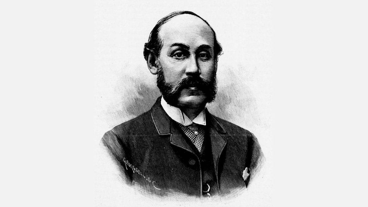 John Jacobsson (1835-1909). Xylografi by Gunnar Forssell (1888).