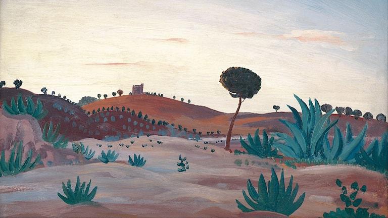 James D. Innes Spanish landscape