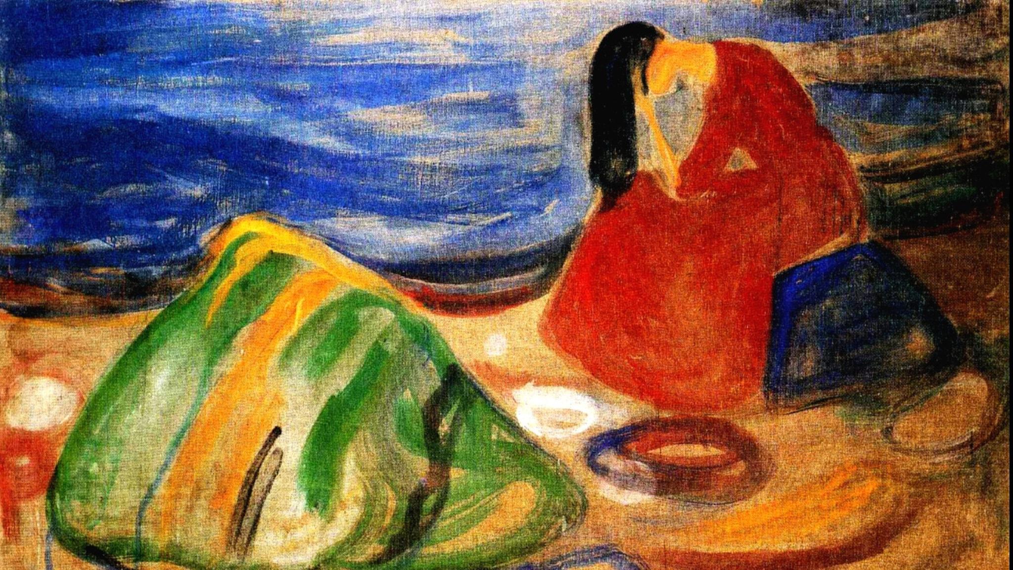 Melankoli. Edvard Munch, 1911.