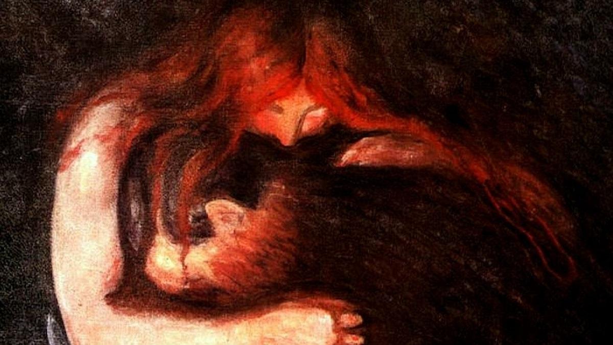 Edward Mucnh: Vampyr, 1895