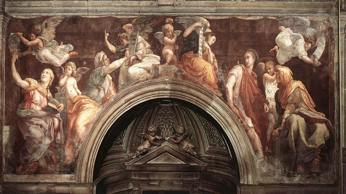The Sibyls (Santa Maria della Pace). Raphael (1514)